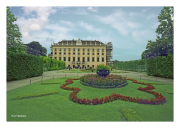 Side Garden at Schonbrunn