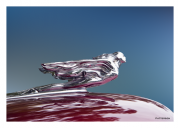 Soaring Lady Hood Ornament
