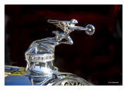 Flying Goddess Hood Ornament
