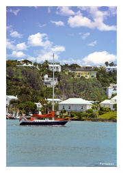 Bermuda Sailboat
