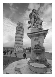 Leaning Tower & Fountain