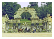 Roman Ruins on Grounds of Schonbrunn Palace