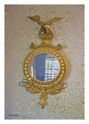 Eagle Mirror Wall Sconce