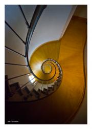 Spiral Staircase, Chateau Azay le Rideau
