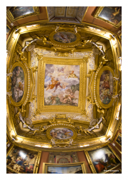 Ceiling Art in Pitti Palace