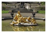 Statue in Fountain at Schloss Linderhof