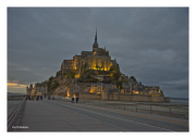 Mont St. Michel at Dusk