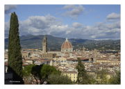 Florence Cityscape with Cattedrale di Santa Maria del Fiore