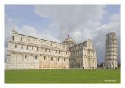 Pisa - Cathedral with Leaning Tower