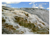 Terraces of Mammoth Hot Springs