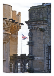 Union Jack over Stirling