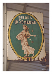 Beer Advertising Sign