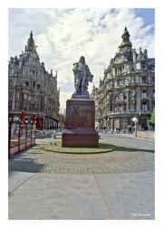 David Teniers Statue