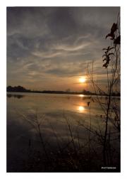 Sunset Over Creek