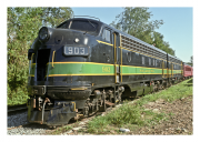 GM EMD FP-7 Locomotive