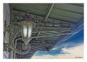 Sconce at Lackawanna Station