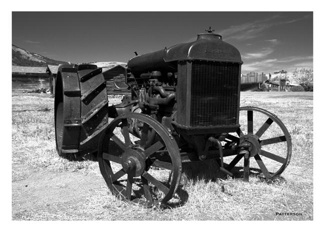 black & white transportation